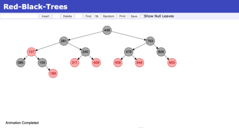 Algorithms – Visualisation